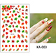 KA Personalized Fashion Design DIY Nail Art Water Decals Transfer Sticker