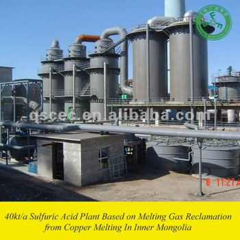 Jinjian Copper Sulfuric Acid Plant from Smelting Gas