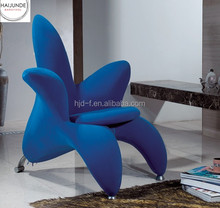 flower shape style chairs fabric flower chair