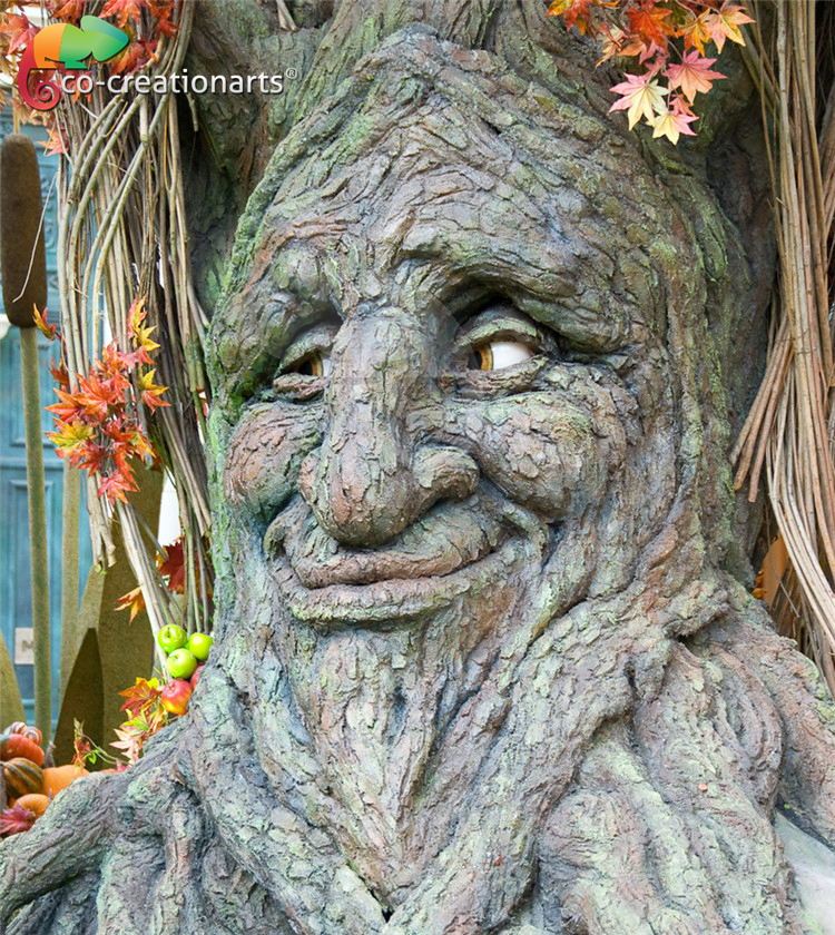 Amusement Theme Park Animatronic Animated Talking Tree