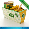 Food grade Fast food restaurant take away paper fast food box packaging for sale