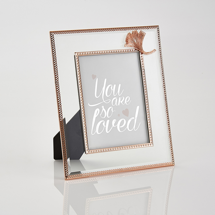 8x10 Double Sided Glass White Wedding Invitations Photo Frame - Buy ...