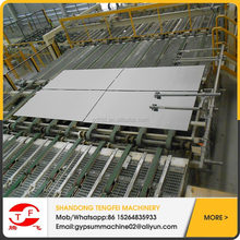germany type moisture proof paper faced gypsum board production line/china gypsum board manufacture machine plant