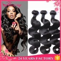 Unprocessed Virgin Hair Without Any Chemical India Body Wave Long Lasting Hair Extension Deals