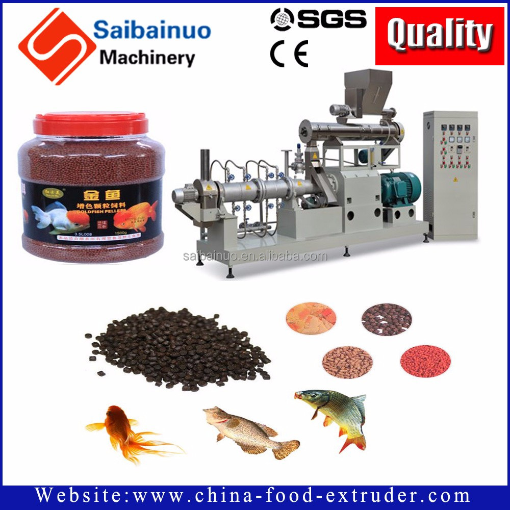 Factory price floating fish feed machine,extrusion fish feed pellets processing machine line