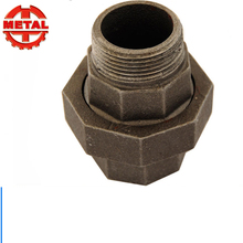 BS Banded Galvanized Malleable Iron Male Female Threaded Equal Pipe Fittings Brass Seat Union 340