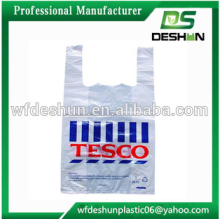 100% bio-degradable t-shirt packaging plastic bag /ziplock bag