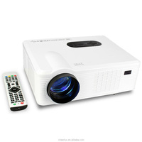 portable led tv projector digital projector with 3000 lumens