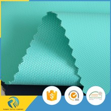 China manufacturer water resistant film glue coated polyester oxford fabric d600