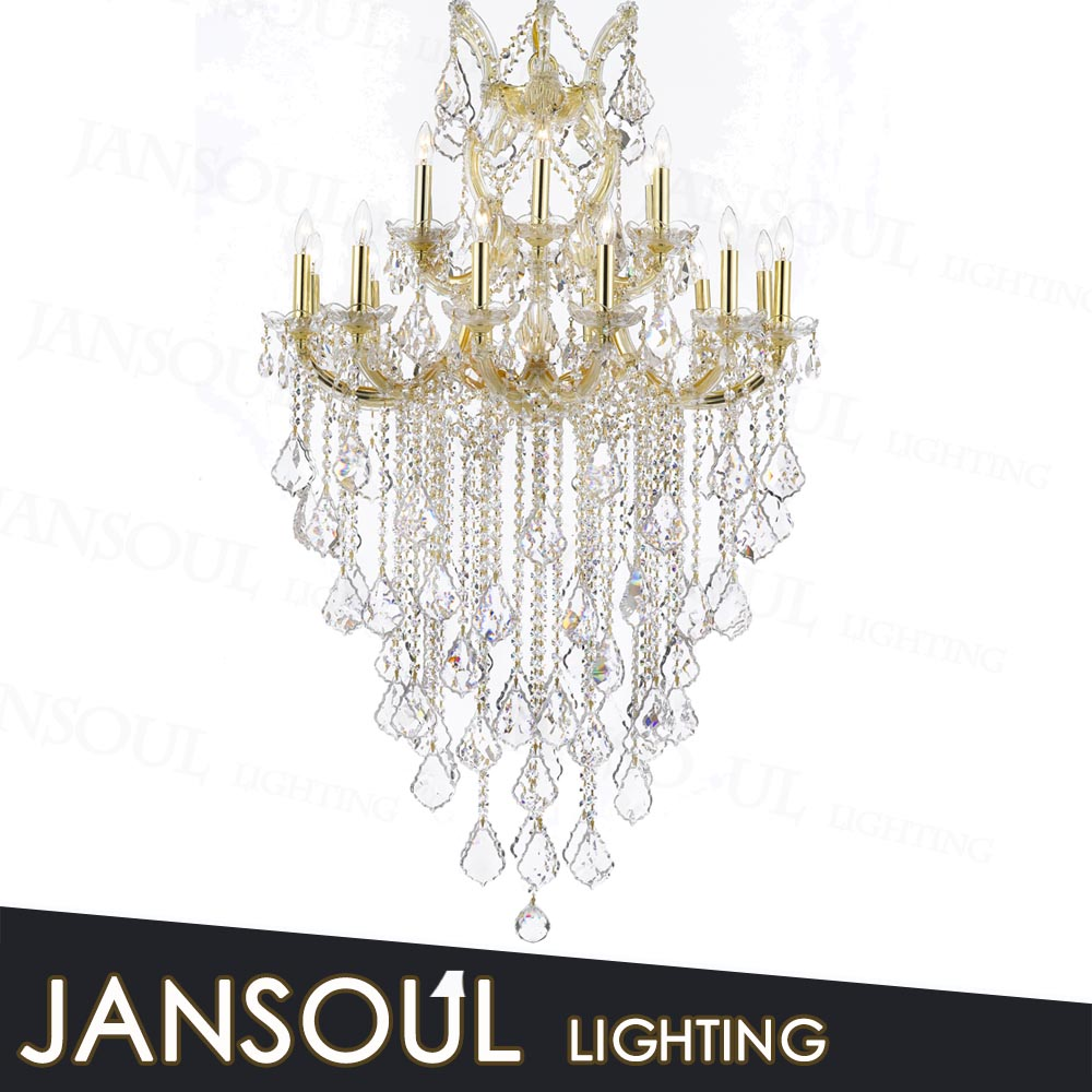 European Pendant Lighting Luxury Modern Crystal Chandelier