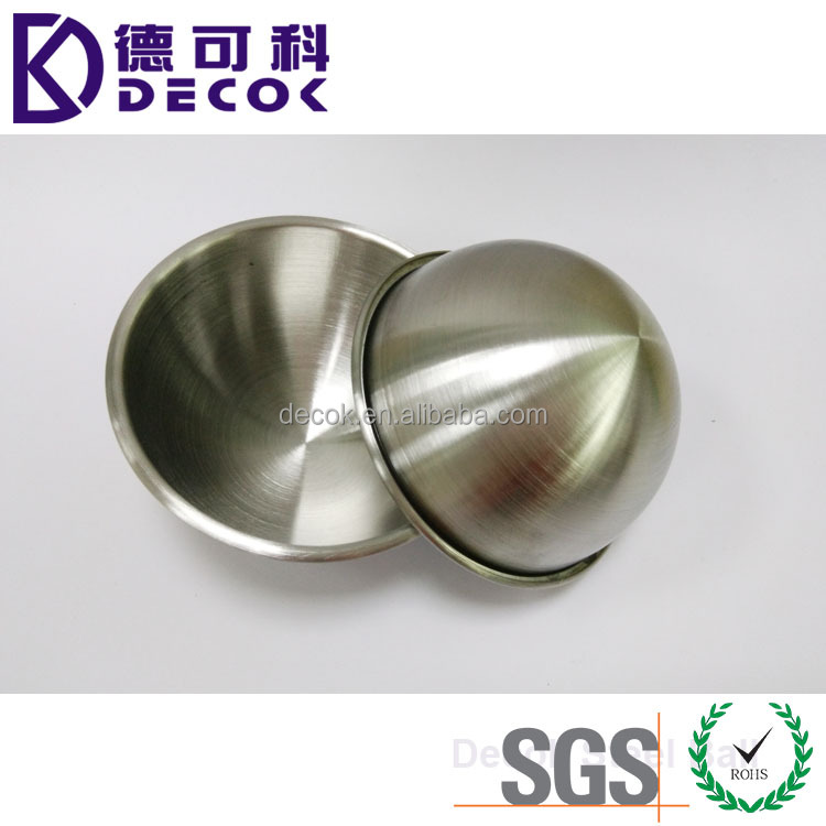 DIY 304 Stainless Steel 6.5cm Bath Bomb Mould