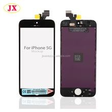 Full original new lcd touch screen for apple for iphone 5 spare parts