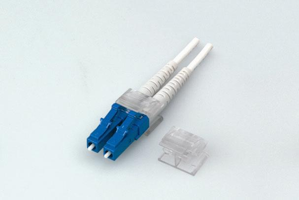 Single Mode Duplex Connector LC/UPC with Ferrule and 3.0mm Diameter Boot