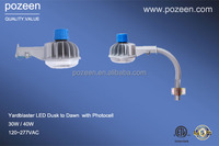 LED Dusk to Dawn with Photocell, LED Road Way Light, LED Sreet Light, 5 Years Warranty 30W