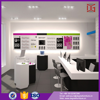 Export china mobile counter design for mobilephone store (DG-TZ04)