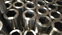 Trade Assurance Supplier Hot Forging Hexagonal Steel Pipe , Hex Drill Steel pipe