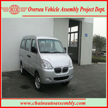 Euro IV Standard 8 Seats Gasoline Engine A/C Second Hand Van