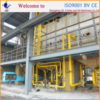QIE build 300TPD Corn/Sunflower Solvent Oil Solvent Extraction Machinery