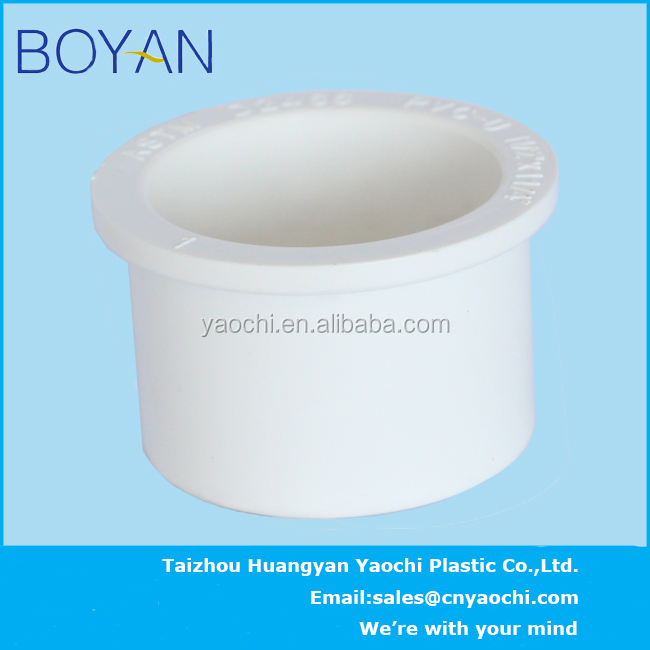 BOYAN pvc ASTM standard water supply pipe fitting reducing bushing