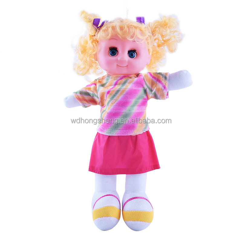 Baby Plush Toy For Children Sing stuffed Plush Toys Musical Interactive Soft Dolls