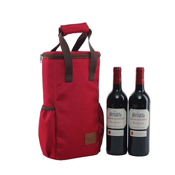 2016 High Quality Two Bottle Wine Cooler Bag