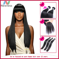 Wholesale price top quality 100% Brazilian virgin remy hair extension body wave / deep wave / big wave /Straight
