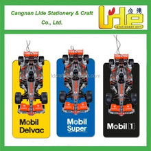 F1 car paper air freshener promotion gift for visitors