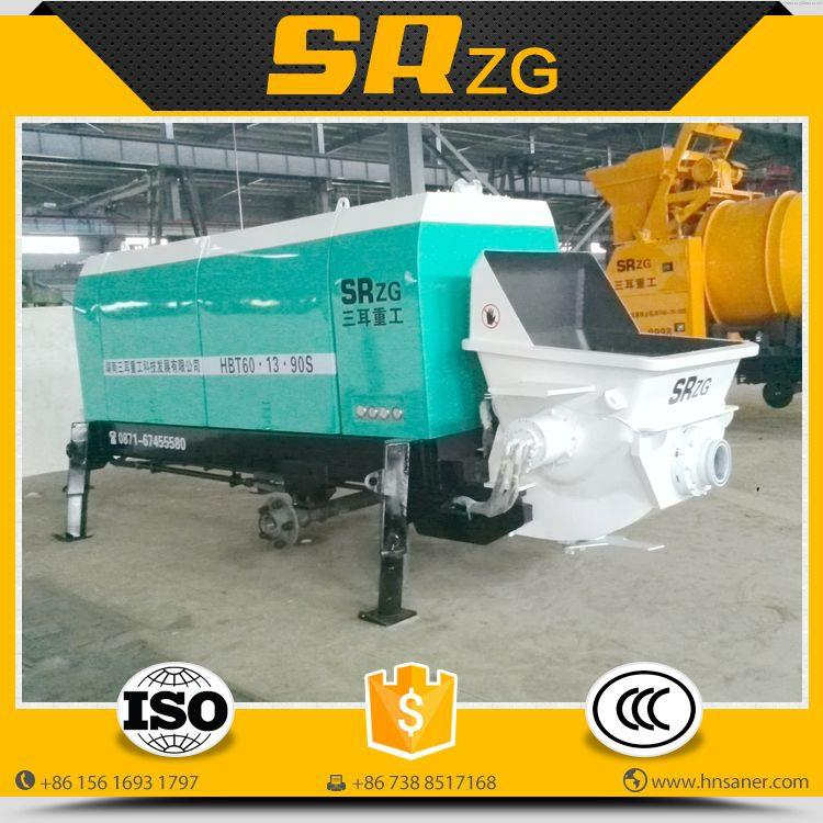Bottom price best sell mini diesel concrete mixing pump price