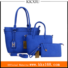 China alibaba wholesale cheap custom brands private label 2017 fashion women pu leather handbags sets