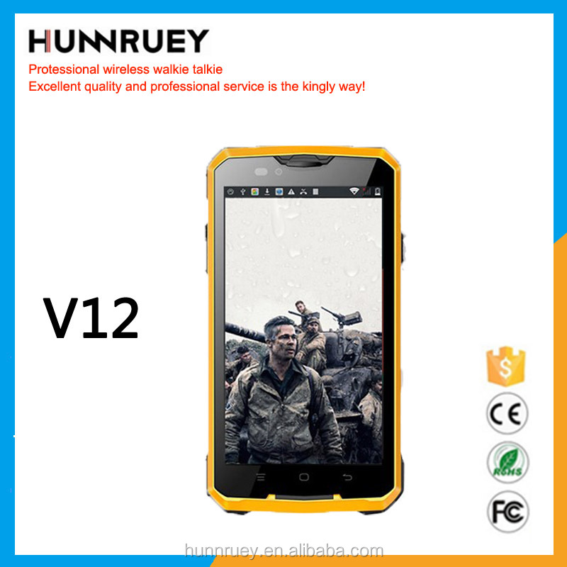 Shockproof Dustproof Smartphone Android 4.4 Guophone V12 mobile phone