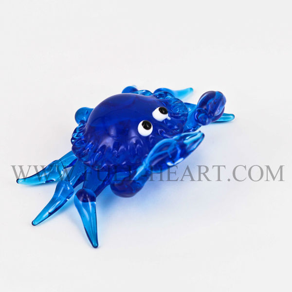 hand blown glass figurine 2015 murano glass animal crab octopus figurines home dacoration