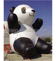 giant lovely inflatable panda cheap prices inflatable mascot replica balloon for sale