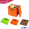 Household Non Woven Clothes Stuff Toys Closet Organizer Folding Storage Box Case with lid