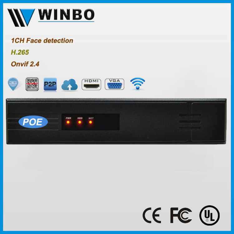 P2P Cloud storage 3G Wifi H.265 POE 8CH NVR