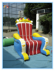 New design inflatable queen chair model,giant inflatable chair sofa for sale