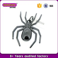 2016 Hot Selling Classial spider-man charms,black spider chram