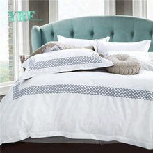 YRF 5 Star Luxury Hotel Linen Wholesale Bedding Set Cotton Bed Sheets
