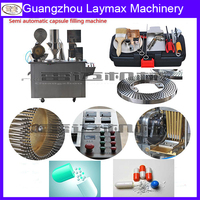 Guangzhou Best supplier famous brand first order 50% discount capsule filling machinery