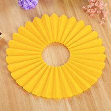 Kitchen utensil silicone hot pot holder/mat/pad padded floor mats insulation pad for glass table tops