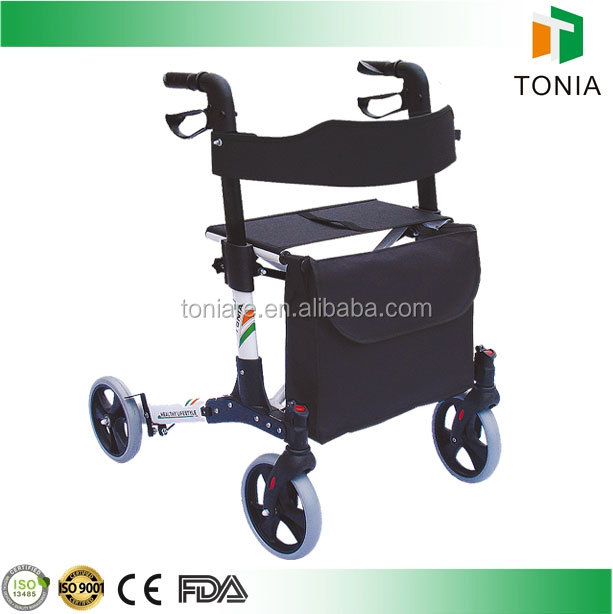 Luxury Care Disability Folding Rollator Aids