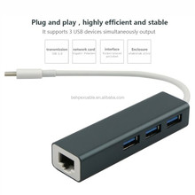 Stable USB C Wifi 3.0 Adapter Hub Cable for Mackbook Android Ethernet