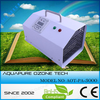 Powerful water air ozone purification