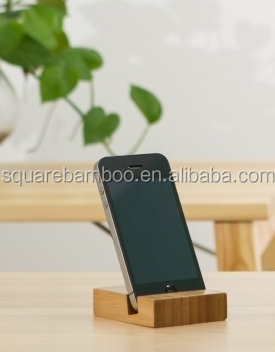 bamboo mobile phone holder