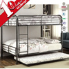 New style and safe adjustable children steel bunk bed/double bed design furniture