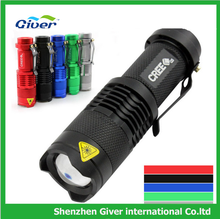 hot selling mini lovely colorful nice flashlight torch,novel led flashlight with clip,factory price