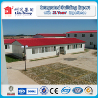 High quality steel modular housing for mining and construction site worker accommodation house