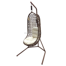 2017 Wicker baby indoor swing chair for kids swing chair with stand
