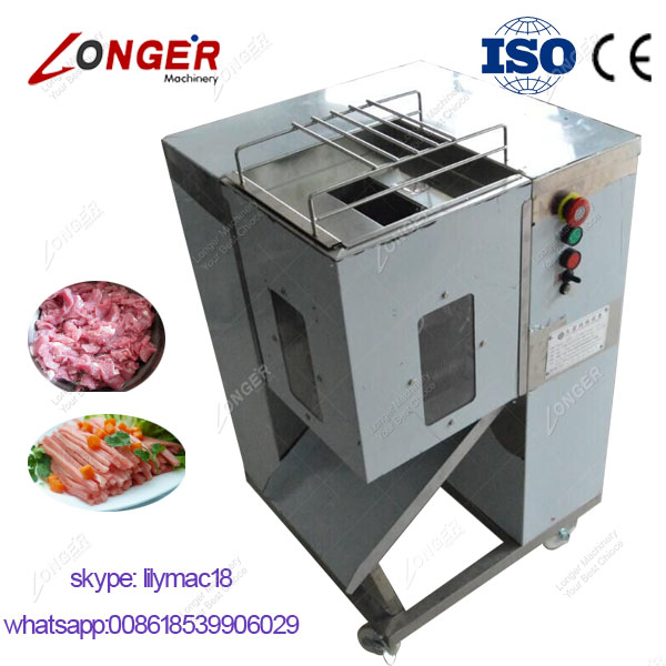 CE Approved Cooked Chicken Meat Cube Cutter Machine|Meat Processing Machine Price
