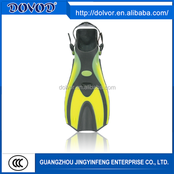 PP + TPR or silicone material diving equipment best quality diving fins