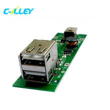 Dual USB Mobile Power Bank Board Battery Charger PCB For Phone Printed Circuit Board Manufacturer